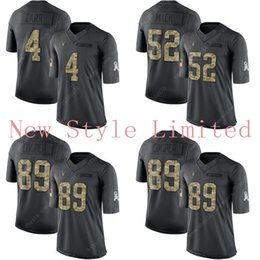Wholesale Limited Raiders Derek Carr Khalil Mack Amari Cooper Black Admiral Salute To Service Stitched Embroidery Authentic Football Jerseys