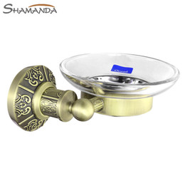 Wholesale Sale Rushed Solid Antique Bronze Finished Soap Dish Holder bathroom Accessories Basket bathroom Products Box