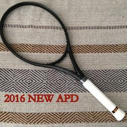 Wholesale New APD Tennis Racket g x19 Carbon Genuine Customs black Tennis Racquets With String Bag Grip Size L2 L3 L4