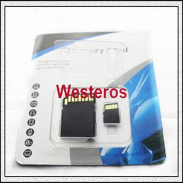 Wholesale 128GB Class Micro SD TF Memory Card with SD mini GIFT Adapter Retail Package Flash SD SDHC Cards by DHL