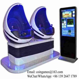 Wholesale Hot Sale Amusement Park Equipment Interactive Virtual Reality Seats D VR Simulator Egg Cinema Movie Game Machine