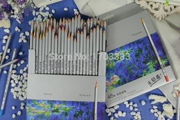 Wholesale New High Quality Color Marco Fine Art Drawing Oil Base Non toxic Pencils Set For Artist Sketch