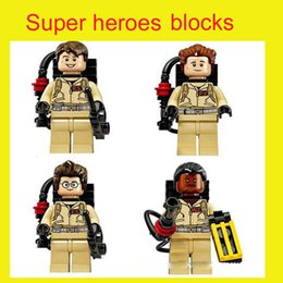 Wholesale Super heroes limited Ghost buster minifigures Busters building block figures toys