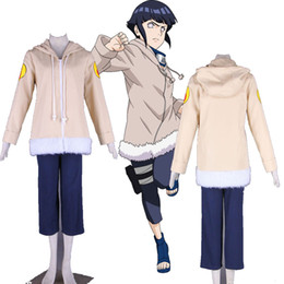 Full Set Cartoon Character COS Japanese Anime Naruto Hyuga Hinata One Generations Cosplay Costume Unisex High Quality For Halloween