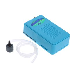 Wholesale Small Portable Oxygen - Portable Air Oxygen Pump for Fish Tank Aquarium with Soft Tube Air Stone