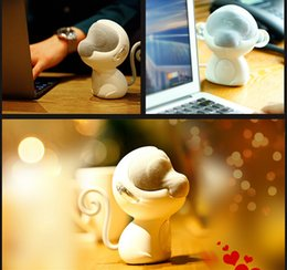 Wholesale 2016 New Arrival Portable Bluetooth Speaker Monkey Art Multimedia Speakers Bluetooth laptop speakers Mini Subwoofer Zodiac Monkey