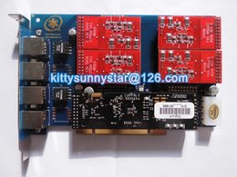 Wholesale TDM410P with Echo Cancellation module VPMADT032 Port FXO Module
