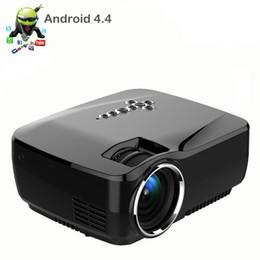 Date Mini LED Portable Pocket Micro HD Android WIFI projecteur LED Multimedia, Perfect Home Theater Cinéma Jeu Vidéo Projecteur cheap newest video games à partir de nouveaux jeux vidéo fournisseurs