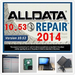 Wholesale 2016 newest auto software alldata and mitchell on demand installed in x200t laptop touch screen with tb hdd