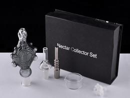 Acheter en ligne Eaux fraîches-2016 Kits New Nectar Collector Perc Pendentif avec Titanium Nail Quartz Nail Wearable Verre Bongs refroidi par eau et Étanche Top Qualité
