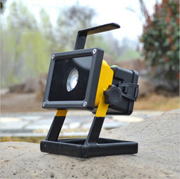 Brightness Waterproof IP65 30W 3 Modes LED Flood light Portable SpotLights Rechargeable Outdoor LED Work Emergency light