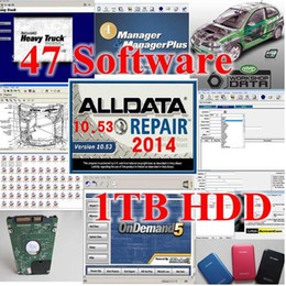 Wholesale 2016 fit all bit windows xp system Alldata Mitchell Ondemand in1 in hard disk car repair software