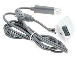 2016 charge de contrôleur sans fil xbox Vente chaude Chargeur USB Charge Câble Kit cordon de plomb pour le contrôleur Microsoft Xbox 360 Batterie Console sans fil charge de contrôleur sans fil xbox promotion