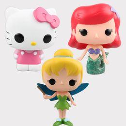 Wholesale Princess Ariel Flower Fairy doll cinderella Mermaid Figure Toys dolls kids brinquedos toy Birthday Girl Xmas Gift