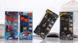 Gratuit 100pcs Expédition / lot Étudiants pour enfants Cartoon écouteurs Avengers 3.5mm Écouteurs intra-auriculaires pour MP3 MP4 Smart Phone Music Player, à partir de téléphone gratuit pour les étudiants fabricateur