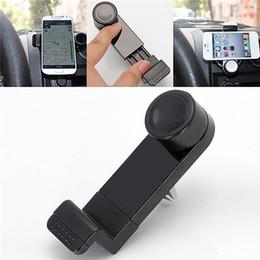Promotion vent mount gps Support de téléphone Universal Car Air Vent pour iPhone 5 6 7 plus de 360 degrés de rotation Car Air Vent Mount Cradle Support support pour GPS samsung