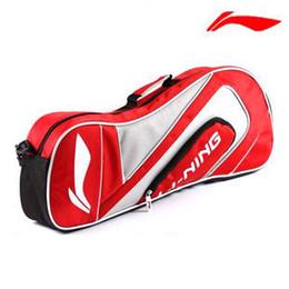 Promotion Lining Badminton Racket Bags Single Shoulder Dragon bag fashion gym bag sport bag backpack for 3 rackets