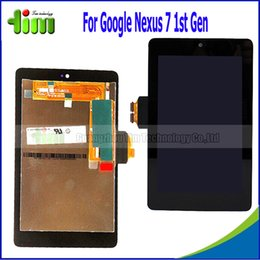 Wholesale Original Replacement For Asus Google Nexus st Gen ME370T Tablet LCD Display Touch Screen with Digitizer Assembly Tim4