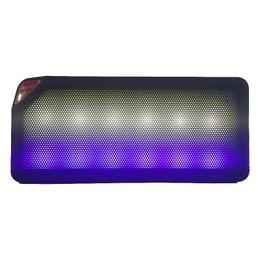 Mini Bluetooth Speaker TF USB FM Wireless Portable Music Sound Box LED Light Subwoofer Loudspeakers with Mic caixa de som