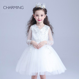 Wholesale princess flower girl dresses birthday party dresses designer flower girl dress china site online shopping