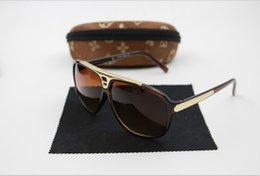 Wholesale High Quality Brand Sun glasses mens Fashion Evidence Sunglasses Designer Glasses Eyewear For mens Womens Sun glasses new glasses color