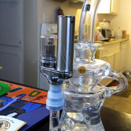 Wholesale Yocan Torch Portable eNail Vaporizer Kit Wax dry herb vape Pen Quartz Dual Coil Herbal vapor bong electric dab e cigarettes Nail bongs Kits