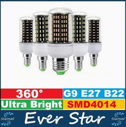 Promotion ampoule g9 conduit 12W 18W 25W 30W 35W Ampoule Led E27 E14 GU10 G9 Led Ultra Bright SMD 4014 Led maïs Lumières AC 85-265V