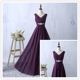 Purple Halter Prom Dresses Sexy Backless V-Neck Halter Prom Dresses Long Purple Formal Evening Party Gowns