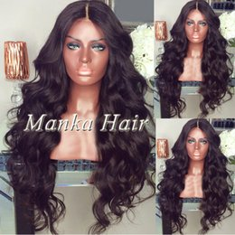 New arrival glueless full lace wigs baby hair around brazilian human hair lace front wigs wet wavy natural hairline