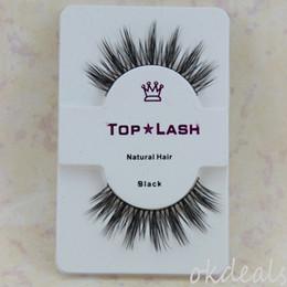 1 Pair Black Luxurious 100% Real Mink Natural Thick Fake Eye Lashes False Eyelashes Makeup Tools