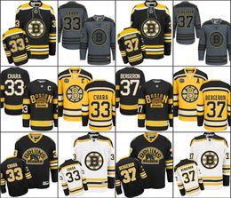 Wholesale 2015 Cheap Ice Hockey Boston Bruins Zdeno Chara Jersey Third Bear patrice bergeron Alternate Black Uniform Chara Bruins Jersey