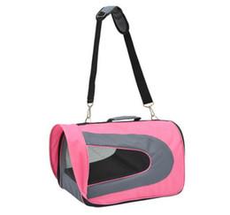 Wholesale New Pet Airline Dog Carrier Travel Tote Bag Cat Soft Kennel w shoulder Strap