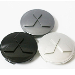 Wholesale 4pcs Cheap for Mitsubishi Wheel Covers Center Hub Caps for Mitsubishi Grandis Fortls ASX Colt Outlander Lancer Wheel Center Hub Caps mm