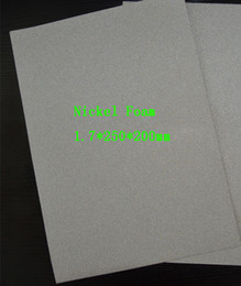 Wholesale Nickel metal foam for battery electrode Filtration materials Scientific research Size about mm