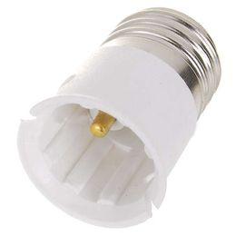 Wholesale Excelente calidad E27 al zócalo de la base B22 LED del bulbo del sostenedor del adaptador del convertidor del halógeno CFL de luz de lámpara