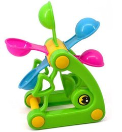 Wholesale Fish Beach Toys Waterwheel Wheel Type Dabbling Toy Hourglass Favorite baby gift