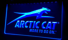 Wholesale LS166 b Arctic Cat Snowmobiles Neon Light Sign jpg