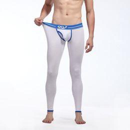 Wholesale-Factory Price! Men Skinny Soft Long Johns Pants Thermal Warm Modal Pants Underwear Underpants S-XL