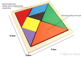 Children's educational wooden toys, colored jigsaw puzzle. Shape cognitive building blocks assembled toys