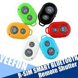 Bluetooth Selfie Remote Shutter Smart phones Remote Camera Control Wireless Self-timer Shutters for Selfie Monopod Sticks