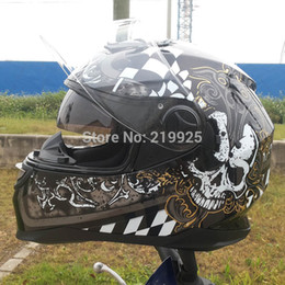 Wholesale Arai Authentic LS2 helmet motorcycle helmet full helmet safety helmet black Genuine Abs Pc material safety helmet