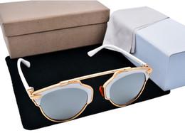 Wholesale polarization sunglasses Sale SO REAL Polarized Sunglasses Women Brand Designer Fashion Men Brand Sun glasses With Original box