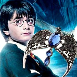 Wholesale Hot Sale Harry Potter Time Turner Necklace Hermione Granger Rotating Spins Gold Hourglass