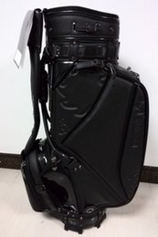 Wholesale golf staff bag new style Ti CB5AW press flower Golf staff Bags quot in black