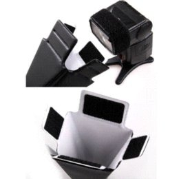 Snoot flash en Ligne-Snoot Reflector Flash Diffuser Softbox Pour Nikon Sony canon pentax YongNuo softbox caméraboxboxboxbox octagon
