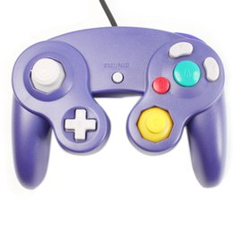 Wholesale Best Price Ship From China For Gamecube Controller Indigo Wired Joystick Pad New Sealed V00087