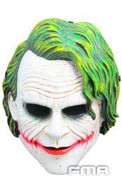 Wholesale FMA Airsoft Wire Mesh Batman Joker Full Face Mask TB648 Helmet Masks Halloween carnival host gifts