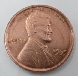 Wholesale 1955 Lincoln Cent Double Die Head Cent copy coins High Quality