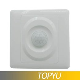 Wholesale Smart Home LED light PIR Infrared Motion Sensor light PIR Switch Human Body Save Energy Motion Automatic Module Light Sense Switch By TOPYU
