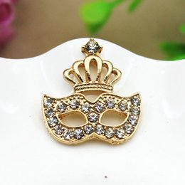 Wholesale Steel Jewelry Diy - Full diamond crown mask hair stick material DIY manual DIY 2016 mobile phone Bridal Jewelry accessories selling cheap shipping accessories